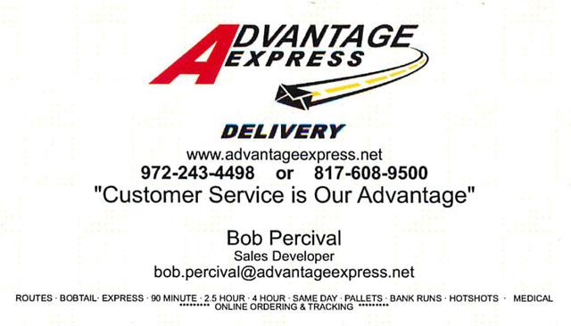 Business cards advantageexpress colourmoves